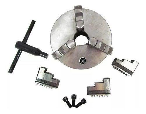 Placa Para Torno 3 Castanhas Universais 4 Polegadas 100mm | Seven Tools