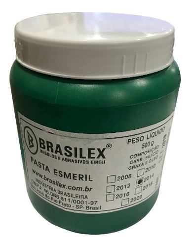 Pasta Para Esmerilhar 2014 500g Brasilex