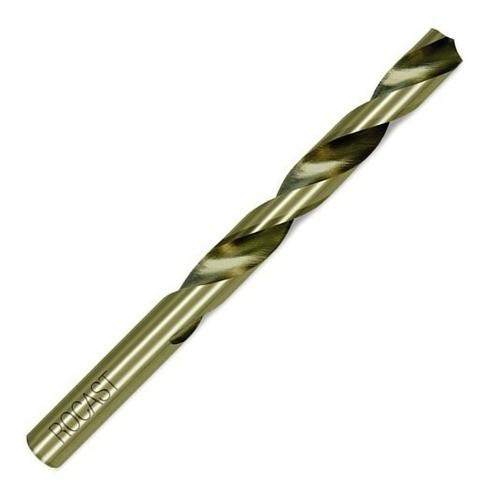 Broca Haste Cilíndrica 8% De Cobalto Hss-co 5mm