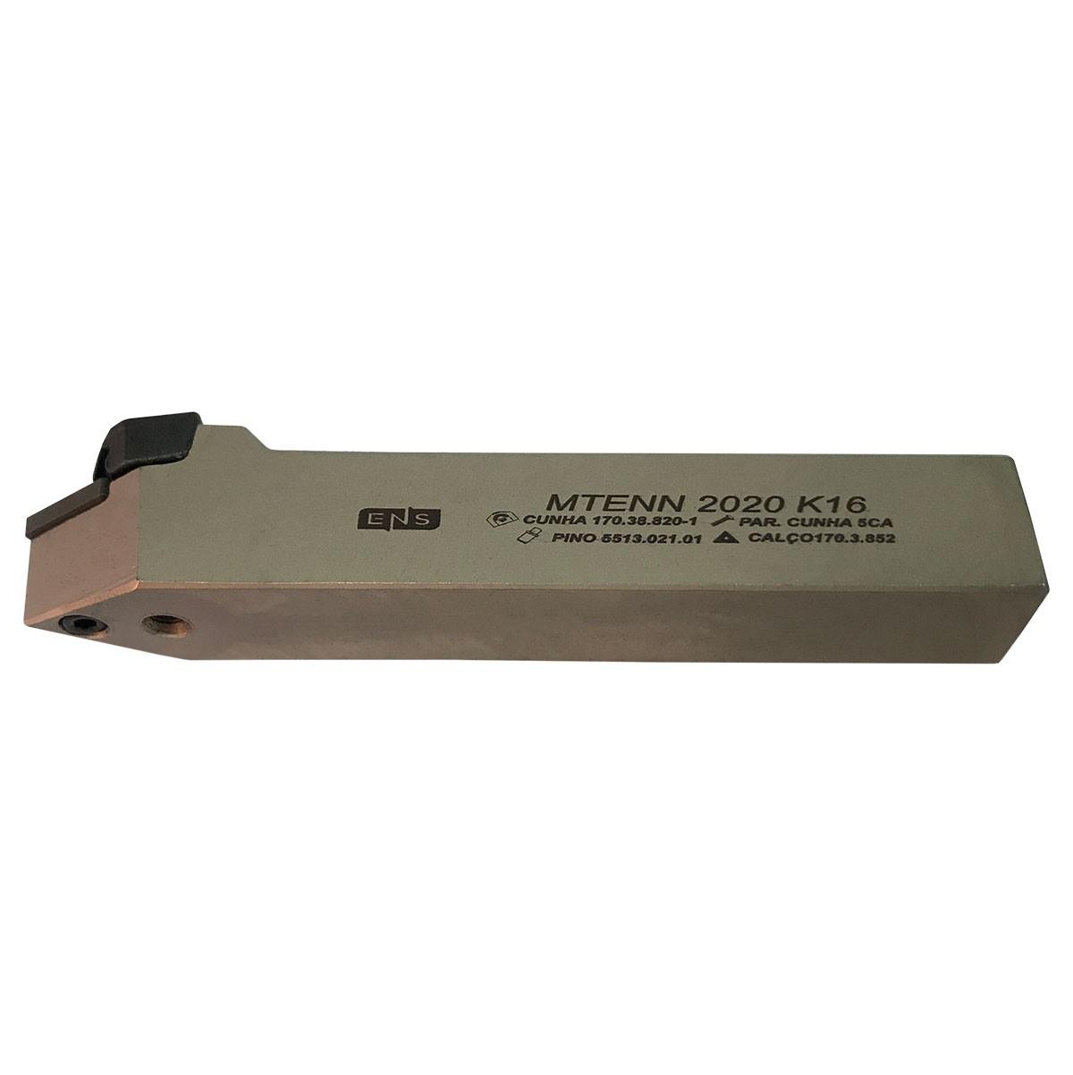 Ferramenta Para Torno Mtenn 20mmx20mm Tnmg 16 Frontal | Seven Tools