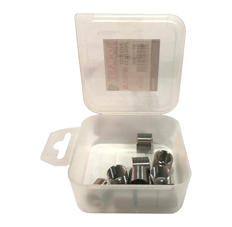 Helicoil Rosca Postiça - M14x1.5 - 1.5xd - 10 Peças