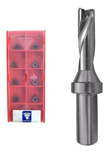 Kit Broca Tmax 24,5mm Wcmx04 3xd + Pastilha Wcmx 040208 Nn