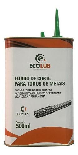 Óleo Fluido De Corte Ecolub 500ml 12 Unidades