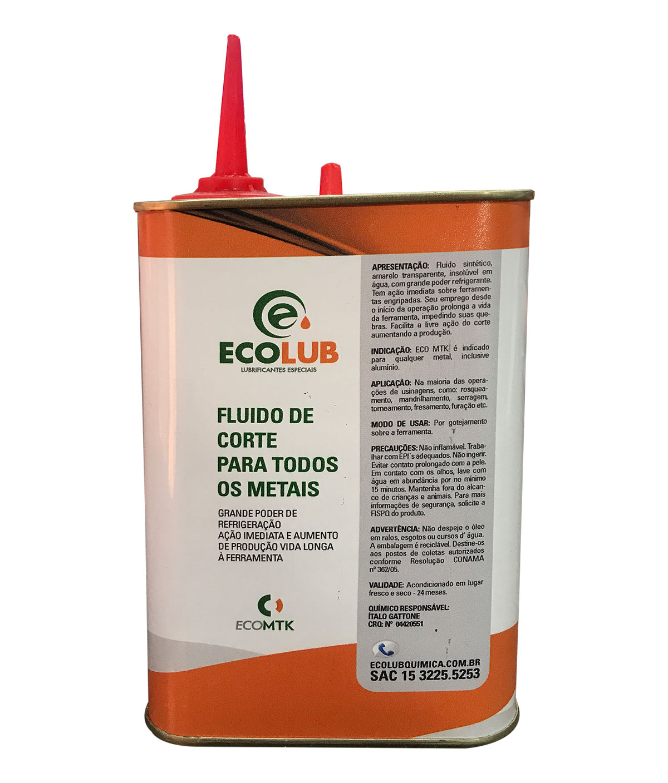 Oleo Fluido De Corte Ecolub 500ml