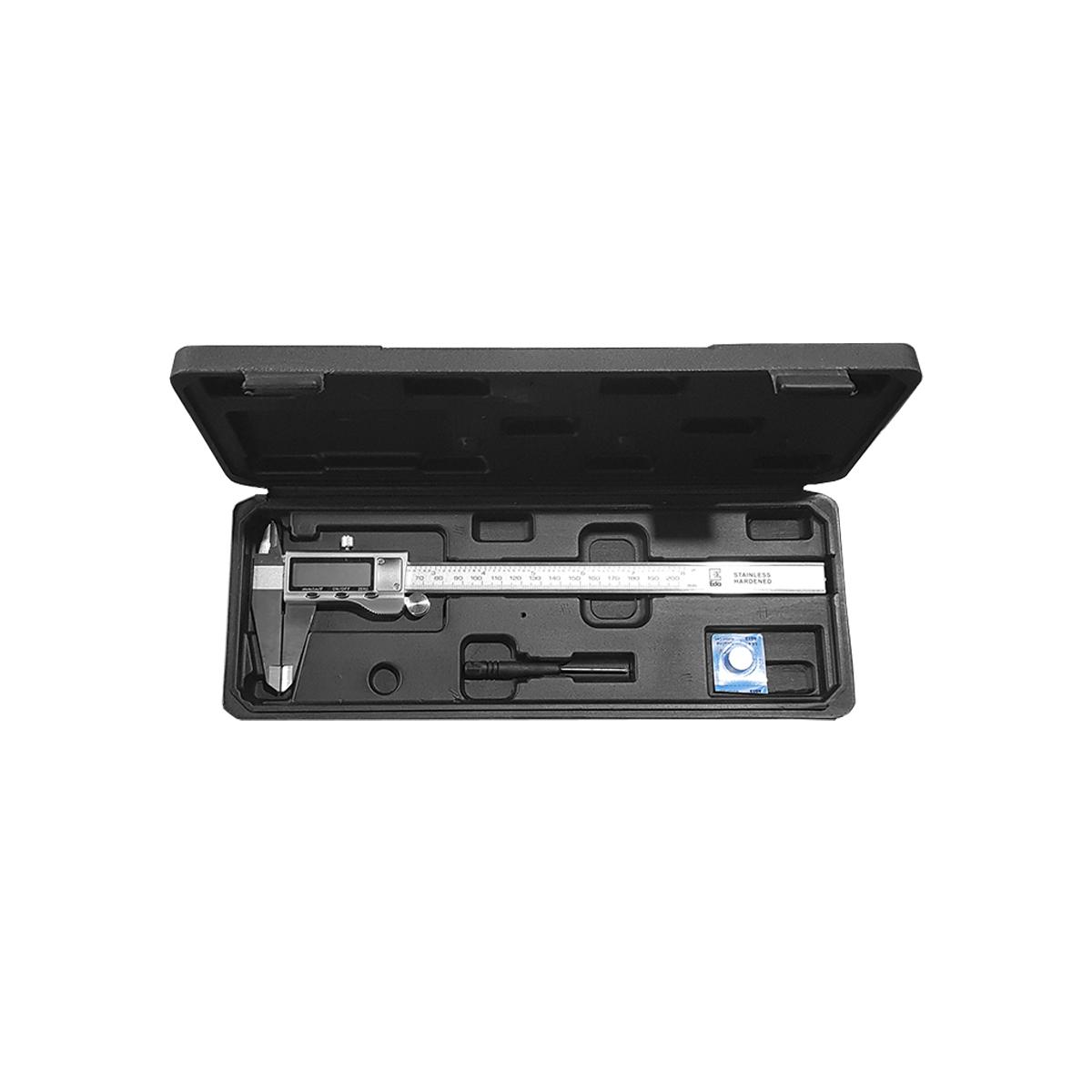 Paquímetro Digital Universal 150mm 6pol Aço