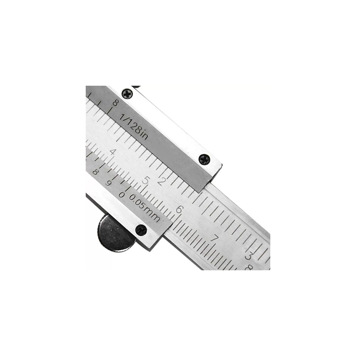 Paquímetro Uni. Analógico 150mm