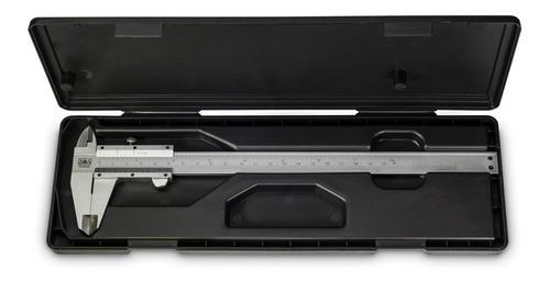 Paquímetro Universal Analógico 200mm Aço Inox Zaas
