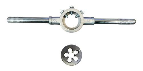 Porta Cossinete 1.1/2pol + Cossinete M14x1.5 1.1/2 Aço Liga