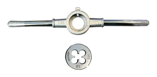 Porta Cossinete 1pol + Cossinete M6x1 - 1pol Aço Liga