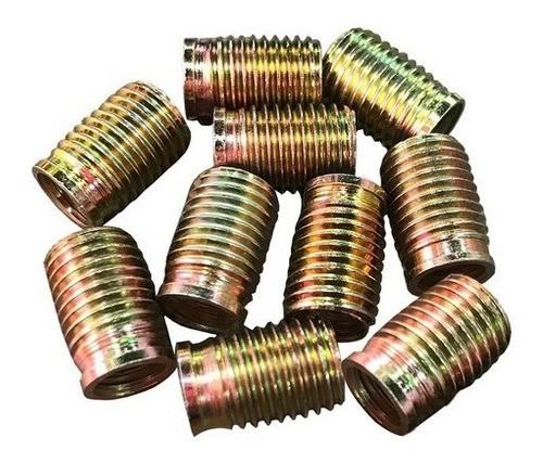 Tucho Bucha Rosca Postiça M12x1,25 / M16x1,5 21mm 10 Peças