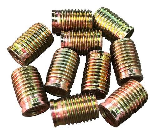Tucho Bucha Rosca Postiça M5x0,8 / M8x1,25 15mm 10 Peças