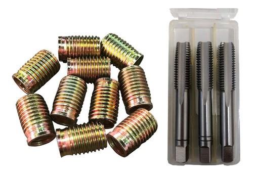 Tucho M8x1,25 / M10x1,25 26mm + Macho Manual 3pçs M10x1,25