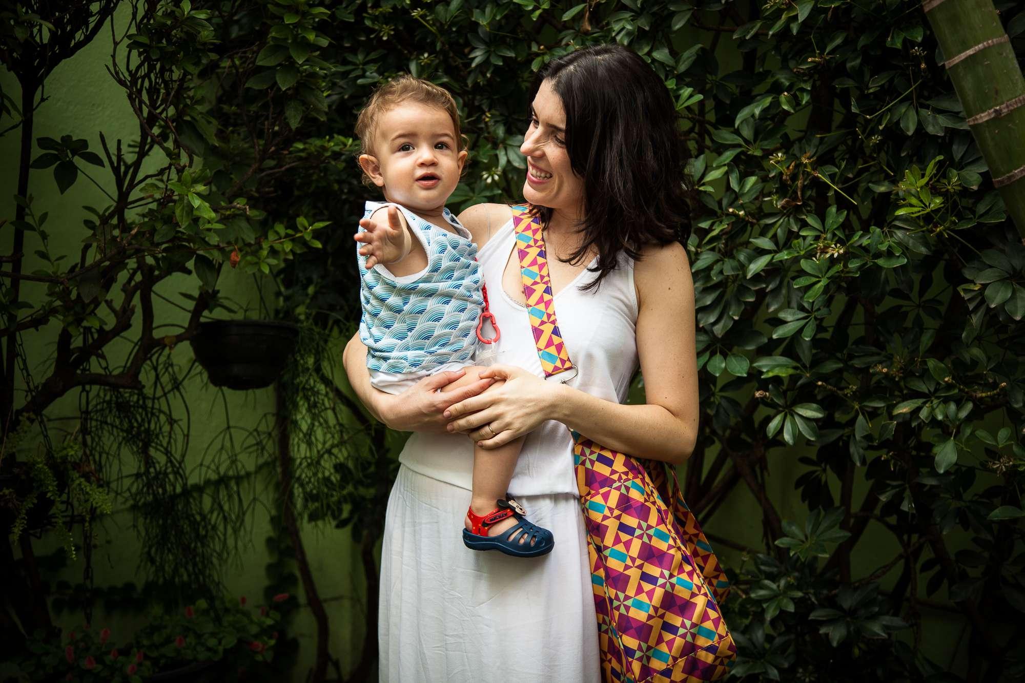 Bolsa para bebê - Sacola Bebêchila Catavento  - estampa by Renata Sader