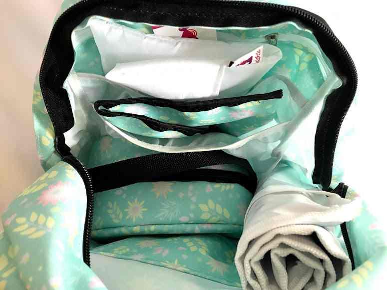 Mochila de maternidade - Bebêchila Térmica Florida Verde