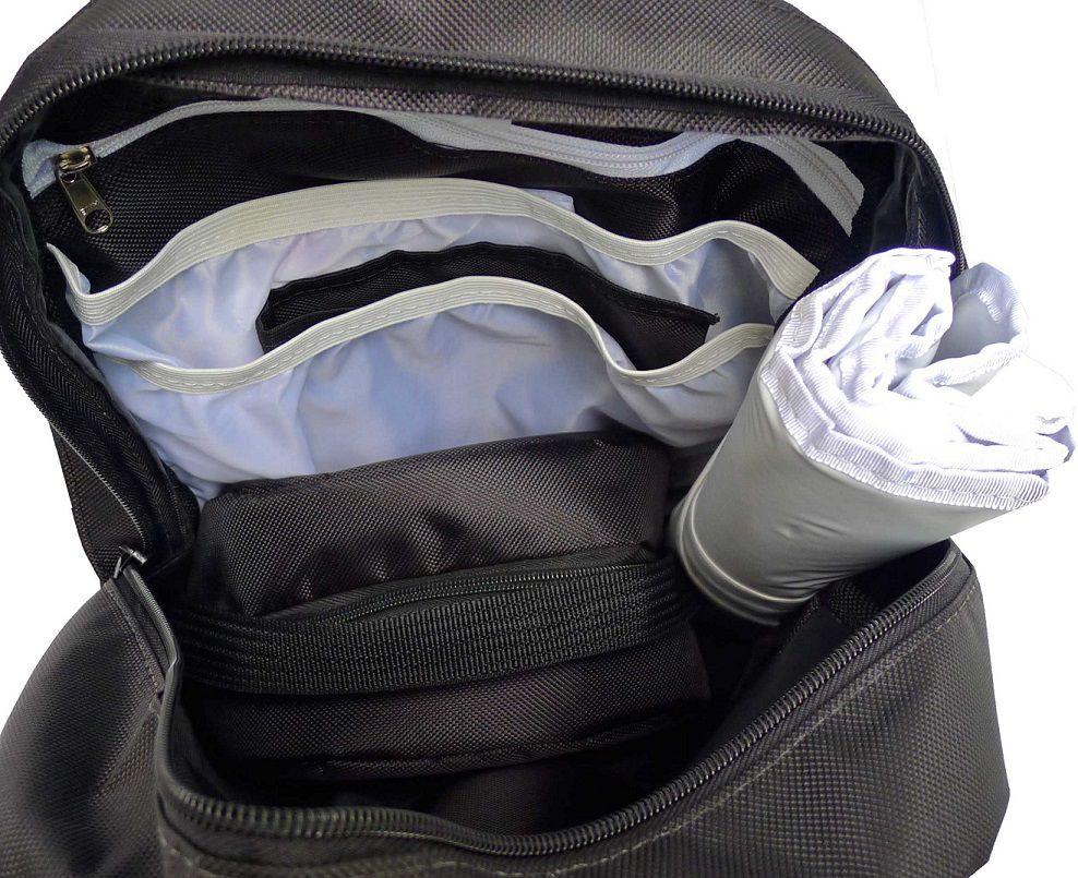 Mochila de maternidade - Bebêchila Térmica Preta