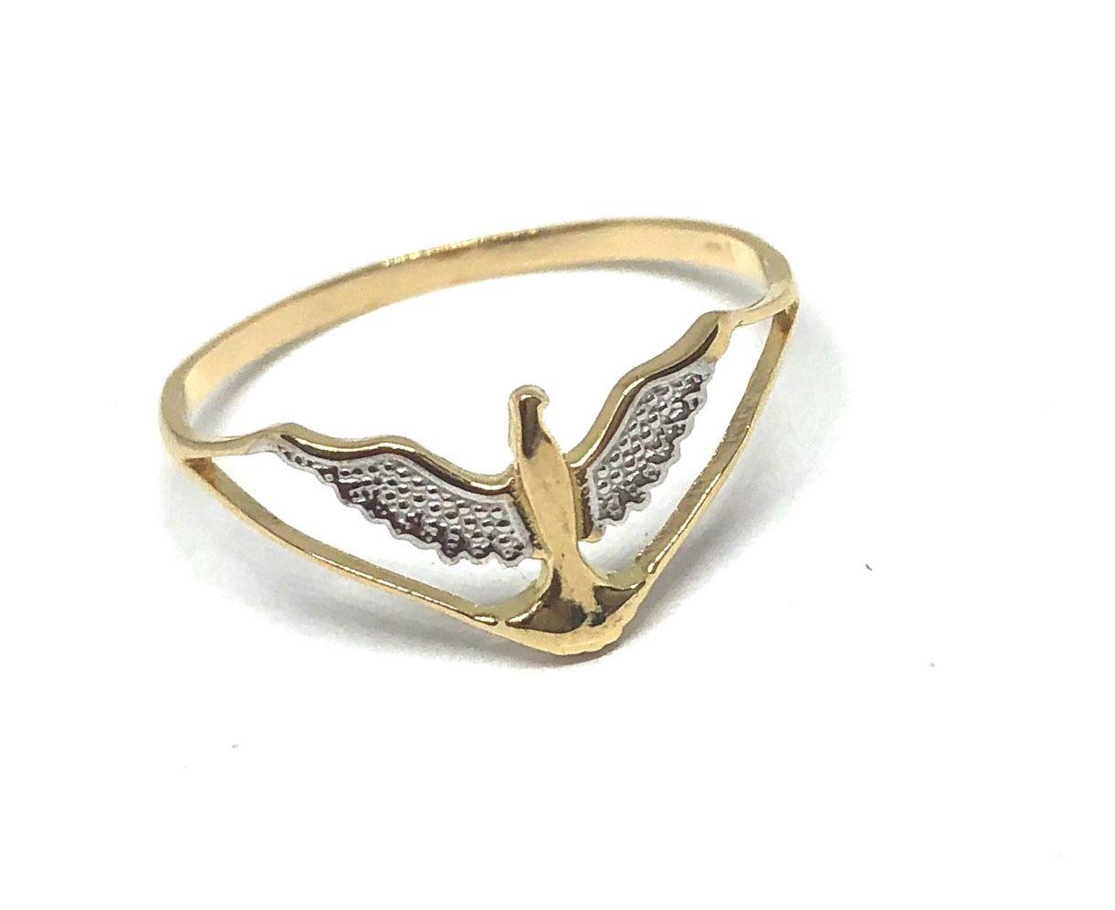 Anel de ouro 18k Espírito Santo