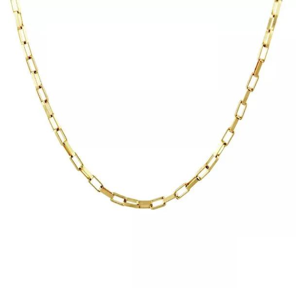 Corrente de ouro 18k Elos Cartier 40cm