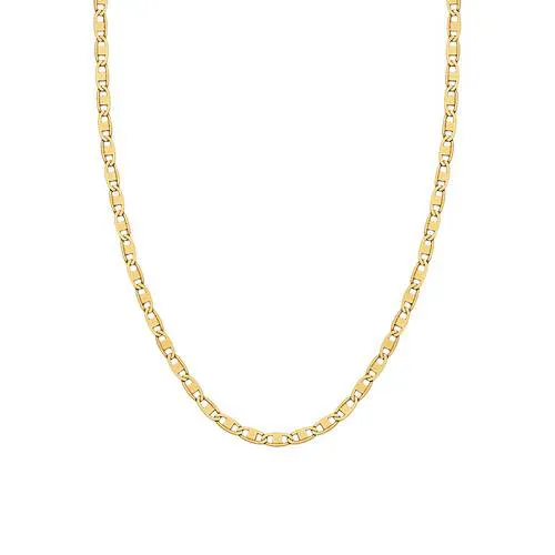 Corrente de ouro 18k Piastrine 45  cm