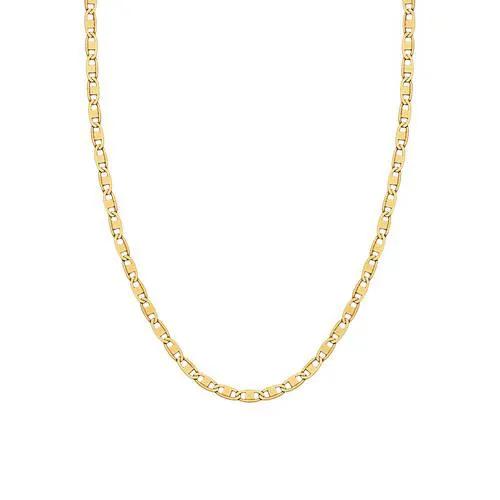 Corrente de ouro 18k Piastrine 50  cm