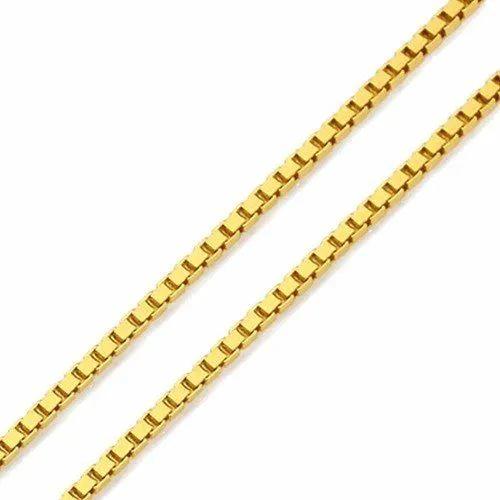 Corrente de ouro 18k Veneziana 40 cm