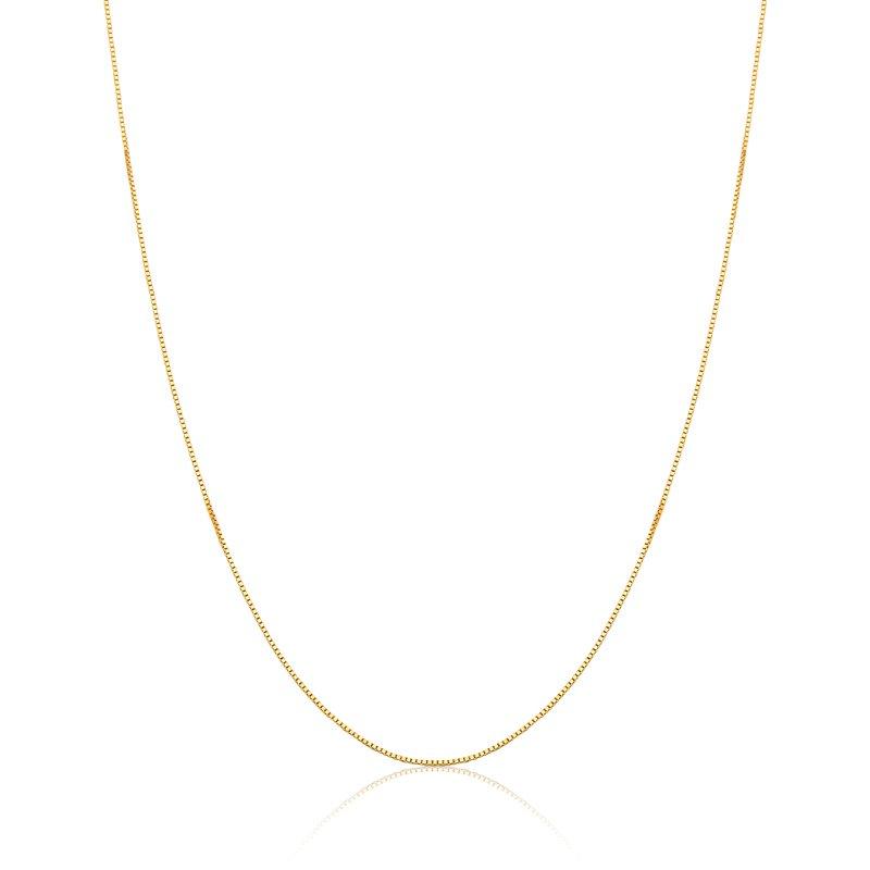 Corrente de ouro 18k Veneziana 45 cm