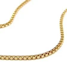 Corrente de ouro 18k Veneziana 50 cm