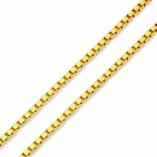 Gargantilha com Pingente de ouro 18k Coroa