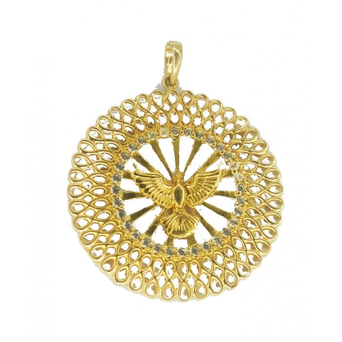 Mandala de ouro 18k Espirito Santo