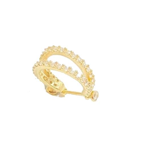 Piercing Cartilagem Conch Ouro 18k 1,3mm