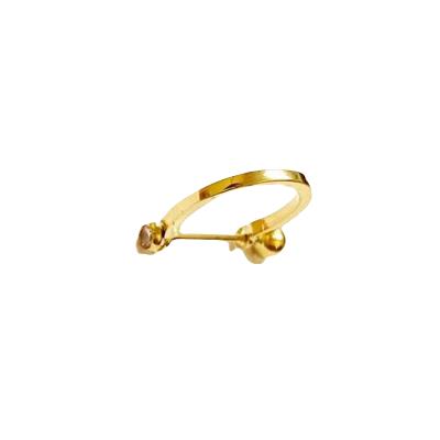 Piercing Cartilagem Conch Ouro 18k