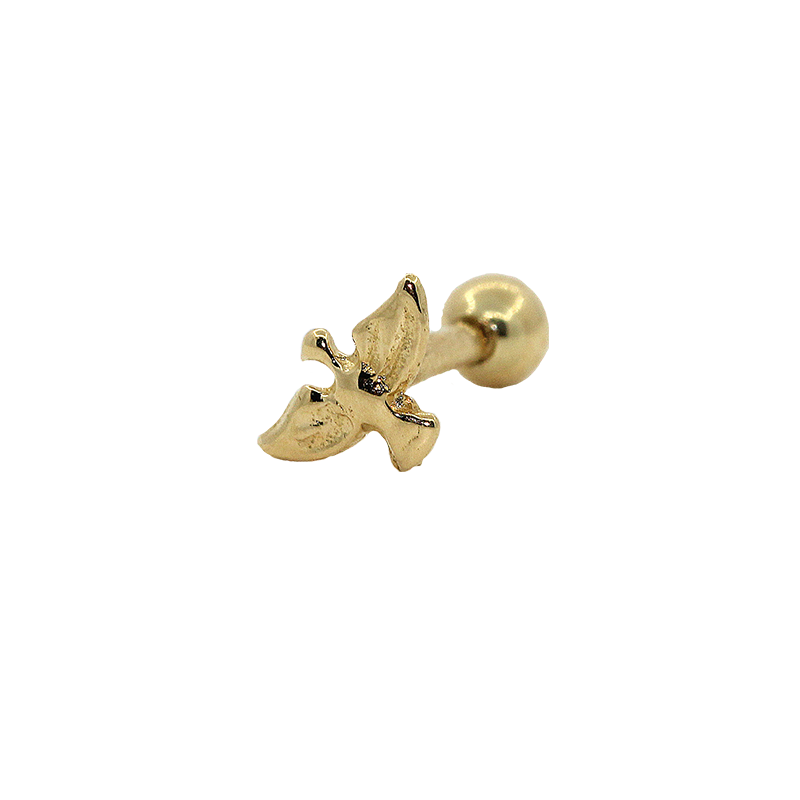 Piercing  Cartilagem Ouro 18k Espirito Santo