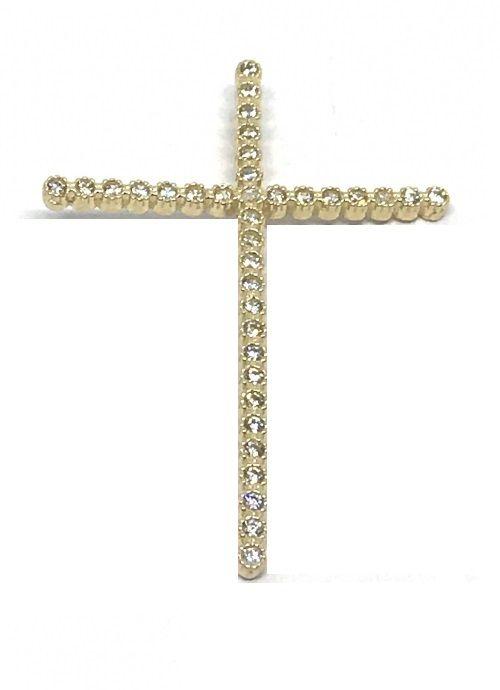 Pingente de Ouro 18K Crucifixo