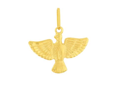 Pingente de ouro 18k Espírito Santo