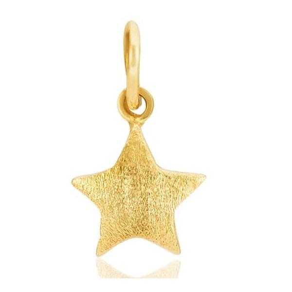 Pingente de ouro 18k Estrela Pequeno