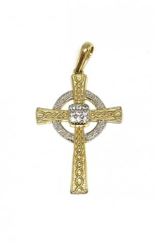 Pingente em Ouro 18K Crucifixo