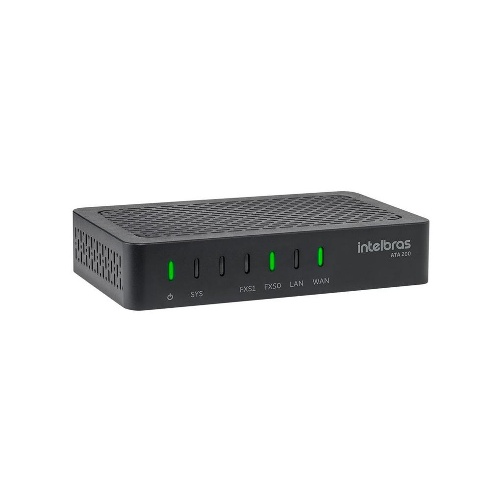 Adaptador IP para telefones analógicos ATA 200