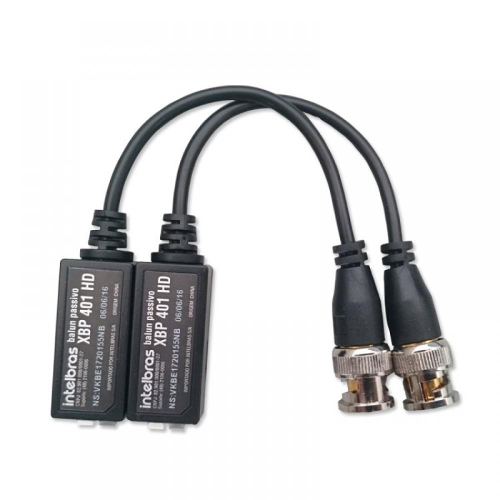 Balun passivo XBP 401 HD Intelbras