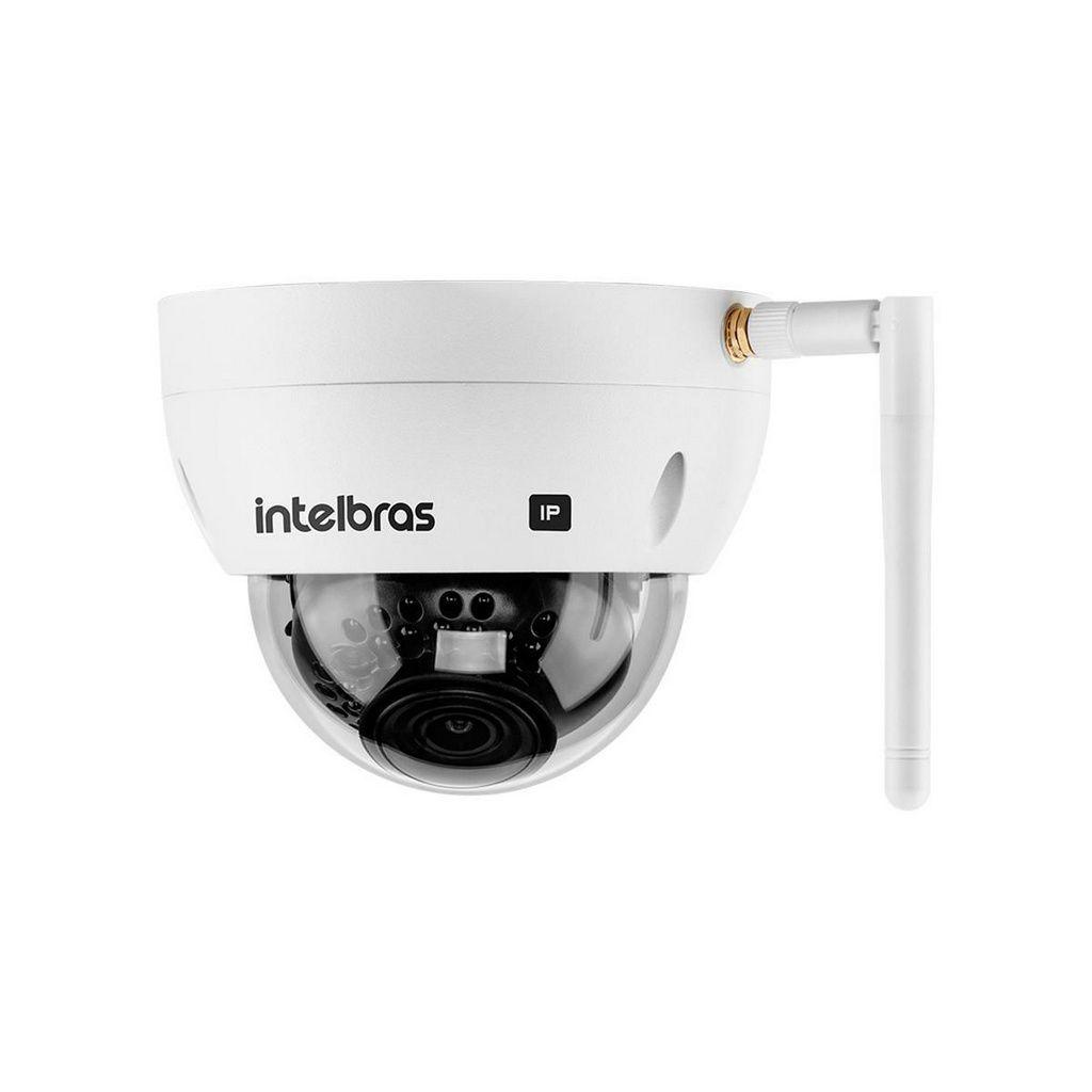 Câmera IP Dome Wi-Fi 2MP IP67 e IK10 VIP 3230 D W Intelbras