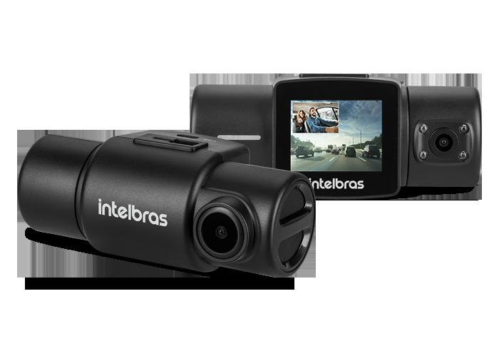 Câmera Veicular Full Hd Duo Dc 3201 Intlebras