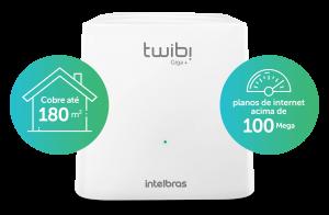 Conjunto Roteador Wi-fi 5 Mesh Ac 1200 Twibi Giga+ Intelbras