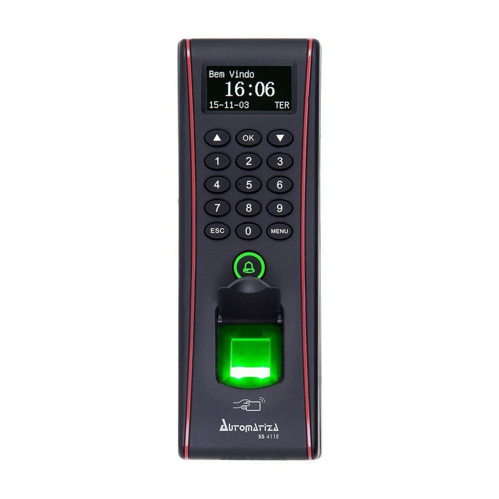Controle De Acesso Biometrico Ss 411e