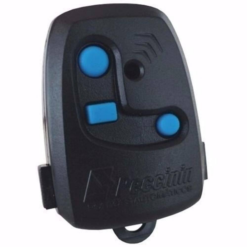 Controle TX Peccinin Nice Holling Code Preto 433,92MHz