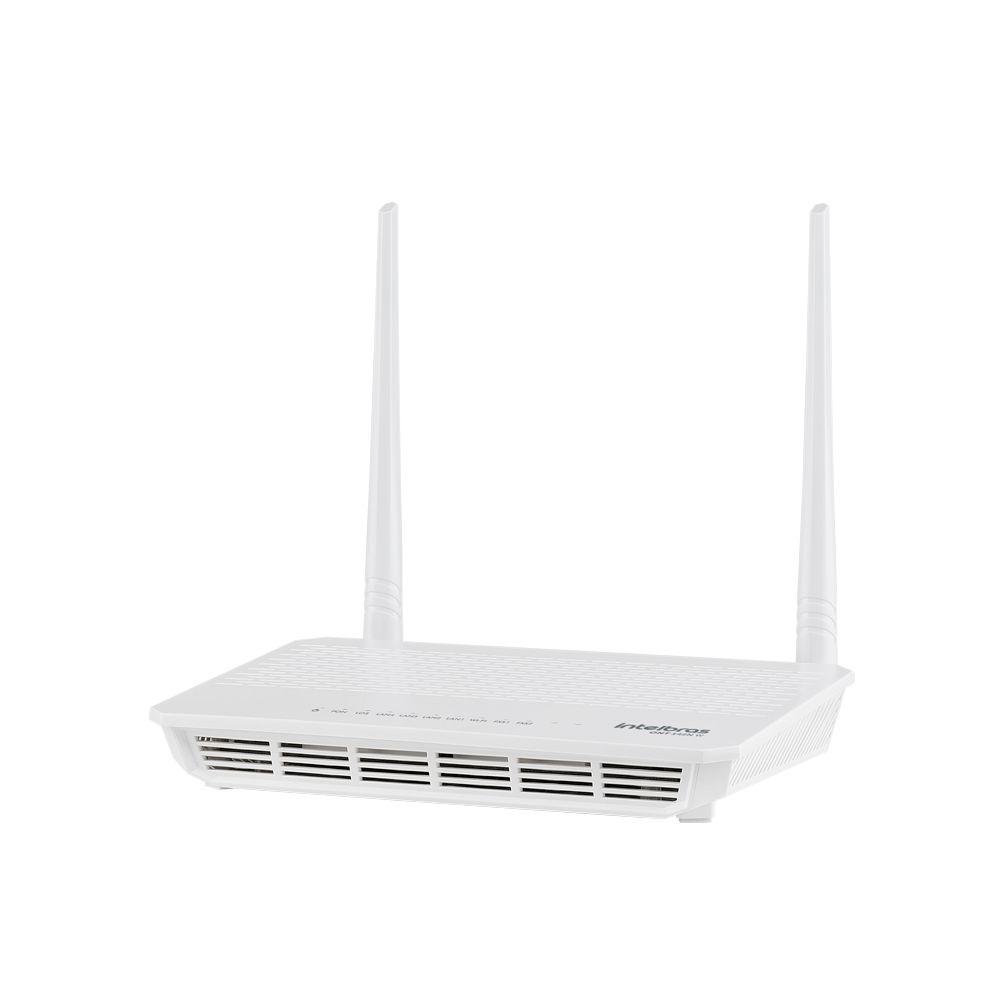 Conversor De Sinal Gpon Em Sinal Ethernet Ou Wi-fi Ont 142n W Intelbras