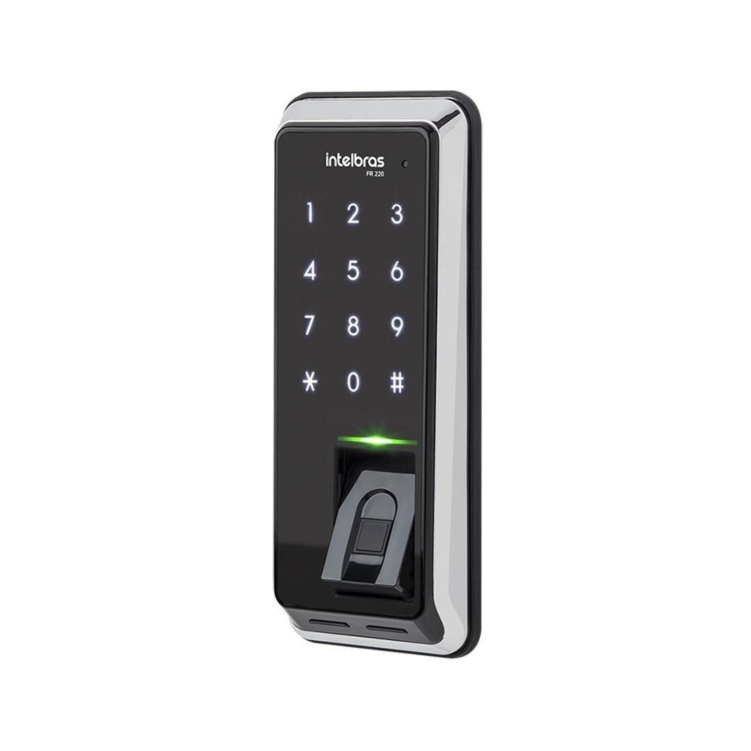 Fechadura Digital Com Biometria Fr 220 Intelbras