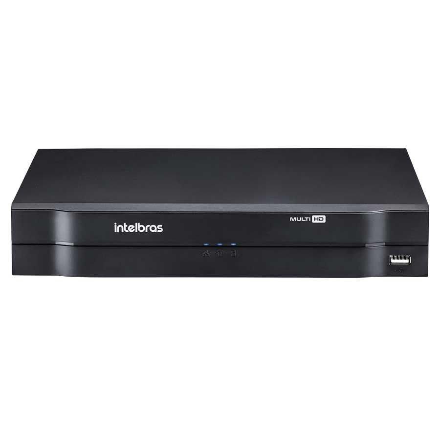 Gravador digital de vídeo 4 canais MHDX 1104 C/ HD 1TB Intelbras