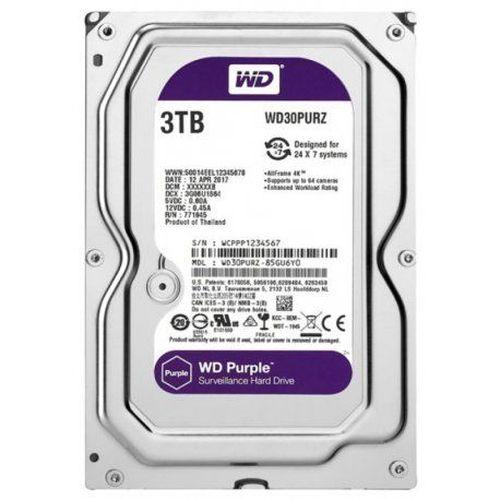 HD 3TB SATA2 7200RPM WD PURPLE