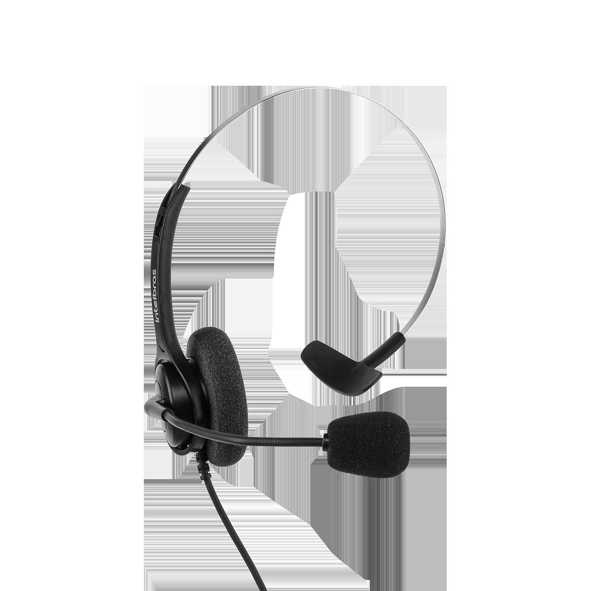 Headset monoauricular CHS 40 USB Intelbras