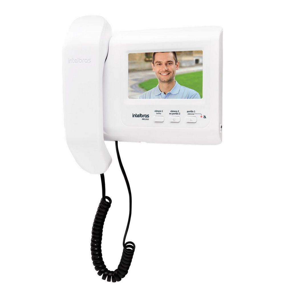 Interfone Videoporteiro Residencial Ivr 1010 Intelbras