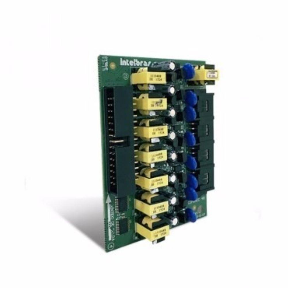 Placa de ramal para COMUNIC 48 (Placa com 8 ramais balanceados)