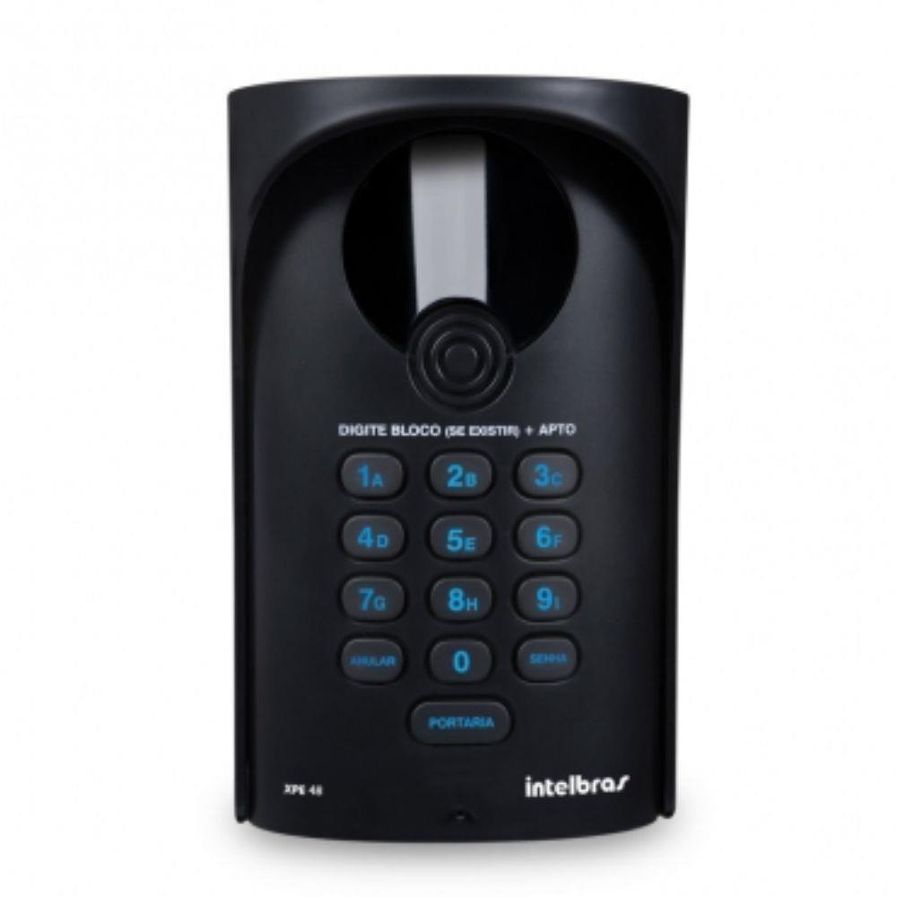 Porteiro Eletrônico Coletivo Comunic Xpe 48 Intelbras
